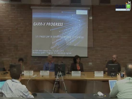 Un mezzo per la condivisione della conoscenza - M.Oggioni -  Workshop GARR-X Progress, Napoli