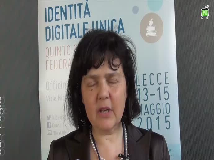 Quinto Convegno IDEM - M.Veronico - Intervista