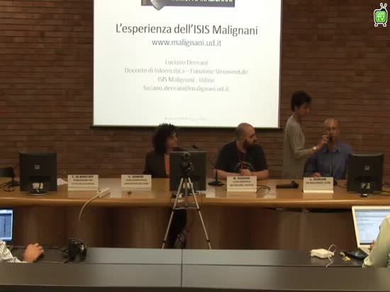 L'esperienza dell'ISIS Malignani - L.Dereani - Workshop GARR-X Progress, Napoli