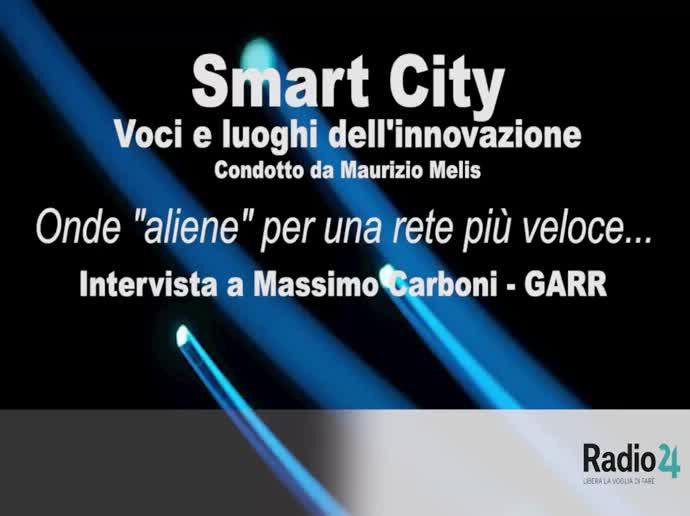 """Intervista di Radio24 a Massimo Carboni - Onde """"aliene"""" per una rete più veloce..."""