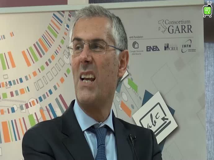 Fabrizio Micari Rettore di UniPa, ci parla di Conoscere Internet