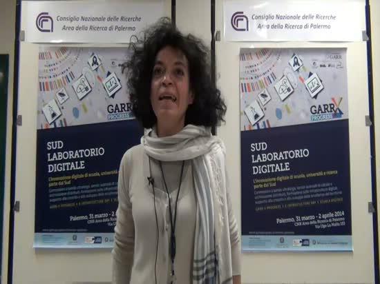 Intervista a Valeria Rossi - Workshop GARR-X Progress, Palermo